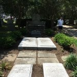 Sousa's wife and children are also buried near him.