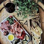 Summer lunch platter at the Cellar Door