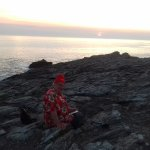Coucher de soleil sur Quiberon