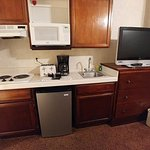 nice kitchenette (didn't test it)