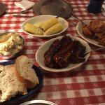 Rib and Chicken Dinner