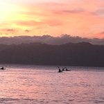 Outside your door. Take a sunset kayak and swim.