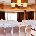 Da Vinci Ballroom with panoramic windows facing the Saskatchewan River. 2042 sq. ft.