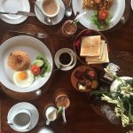 Indonesian Breakfast Served to our room