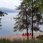 beach/lake view