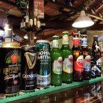 big selection of beers