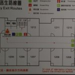 Floor plan, street front to the left, alley to the right, top & bottom, adjacent bldg walls