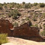 wall of some of the ruins