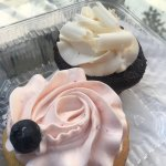 Devils Food & Rose Water Cupcakes - Delish! Definitely another visit worthy!