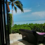 View out to Gulf of Thaland from Oceanfront Pool Villa #1103