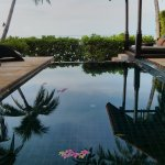 The private pools in the Oceanfront Pool Villa