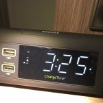 New clock with USB port for charging cell phones and small devices