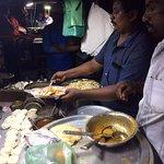 Parotha Stall at Street