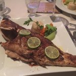 Whole grouper