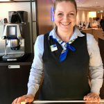 Our Favorite Front Desk & Bar Gal, Amazing!