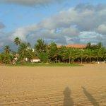 Hotel and beach
