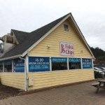 J's Fish and Chips, Lincoln City, Oregon.