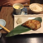 Great Chirashi and Broiled Cod