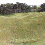 Craters at Vimy Ridge Memorial