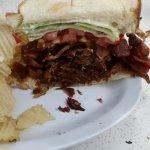 Heart Attack Bacon sandwich