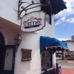Front entrance view of El Rey Sol