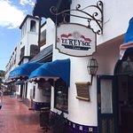 The entrance sign to El Rey Sol in Ensenada, Mexico
