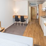 Appartement mit Küchenzeile