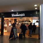 Carluccios's, Piccadilly Train Station, June 2017