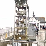 Novelty clock on the pier.