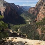 Zion's Main Canyon - from Angel's Landing