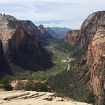 Zion's Main Canyon and Virgin River