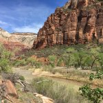 Zion's Main Canyon - Virgin River