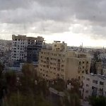 vista panoramica dalla camera su Amman