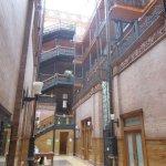 Bradbury Building Inside