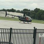Hellocopter outside