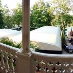 Balcon avec vue terrasse Au Pois Gourmand
