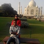 It is taken during our visit to Agra