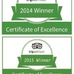 Four years in a row! The no 1 Restaurant in Graaff-Reinet! Thanks for your reviews and supportin