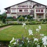 Villa Arnaga, une vue du jardin