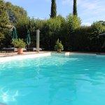 piscine plein air chauffée au sel 12x6 M