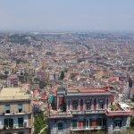 Aussicht von oben auf die Stadt