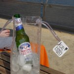 Ice bag for your beer on the T Beach