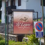 The signpost of the restaurant