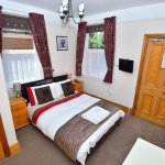 double room with en suite toilet and the use of 2 shared bathrooms