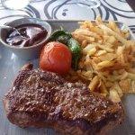 Steak at Aloha 17 Bar and restaurant