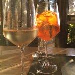 Prosecco and Spritz. Perfect.