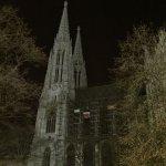 Votivkirche bei Nacht