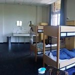 One of the 12 bedded mixed dorm