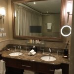 Nice bathroom with two separate sinks