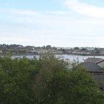 View from top floor overlooking Dungarvan Harbour